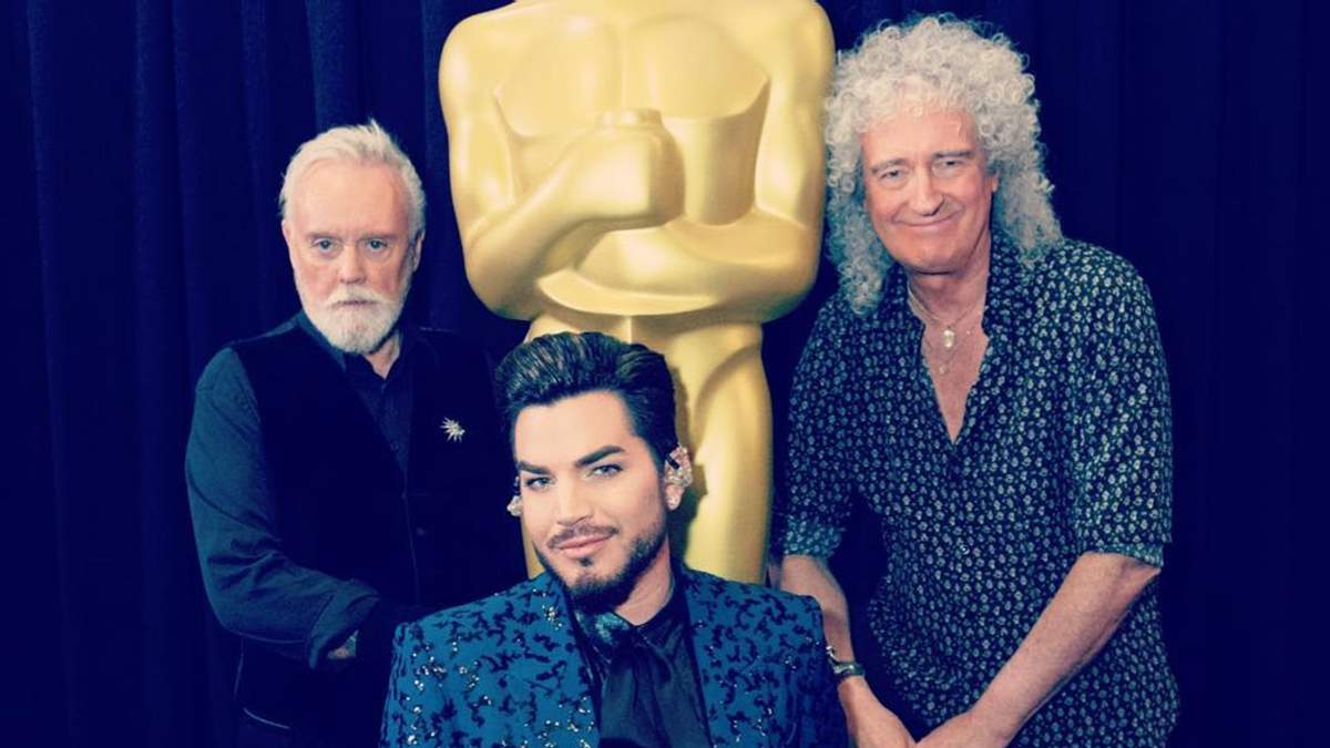 Адам Ламберт і учасники гурту Queen