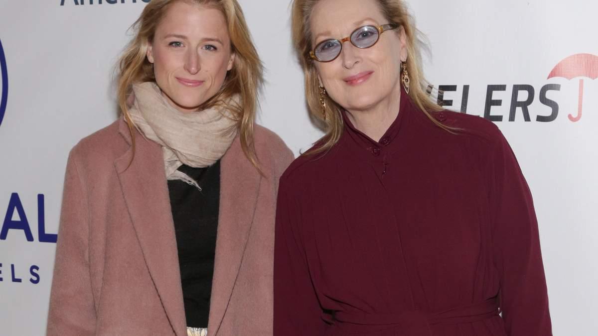 Меріл Стріп з дочкою Мамі Гуммер