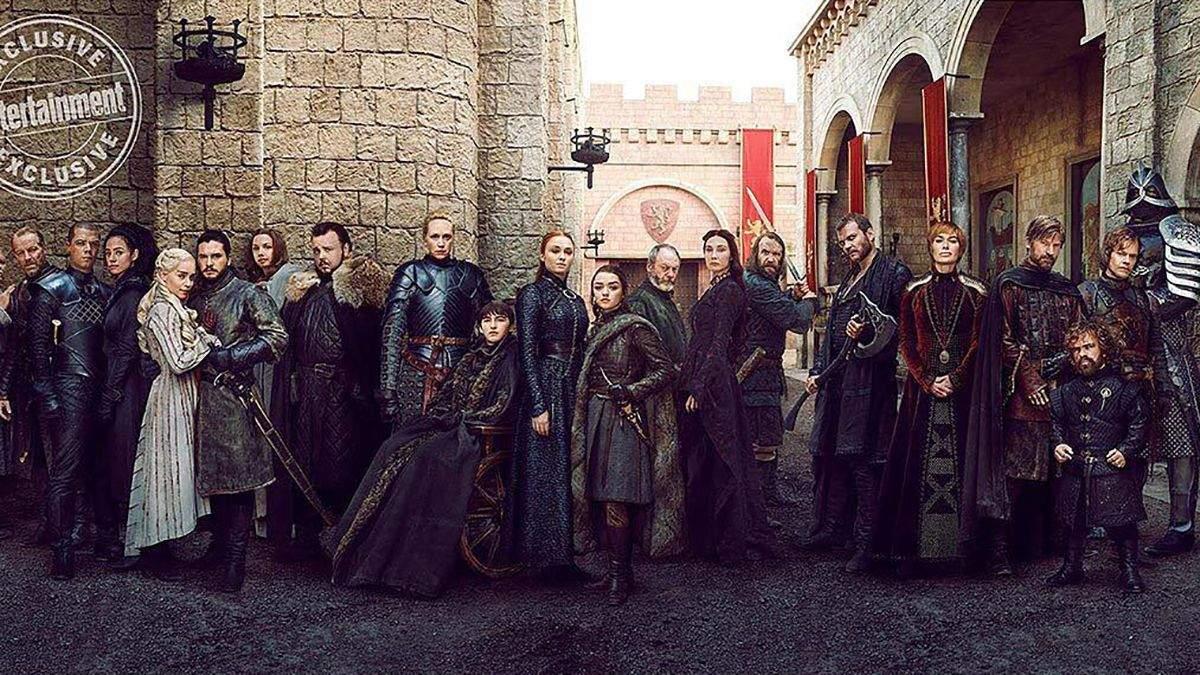 """Всі герої """"Гри престолів"""" у фотосесії для Entertainment Weekly"""
