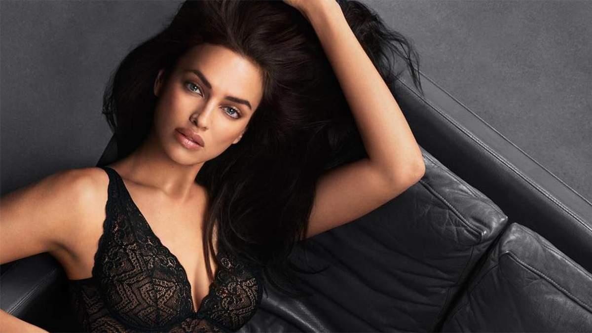 Ирина Шейк снялась в сексуальных образах для новой коллекции Intimissimi