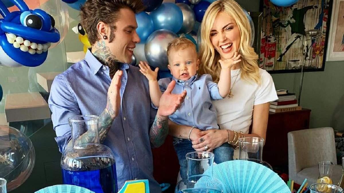 Family look: чоловік К'яри Ферраньї приміряв однаковий одяг з 1-річним сином