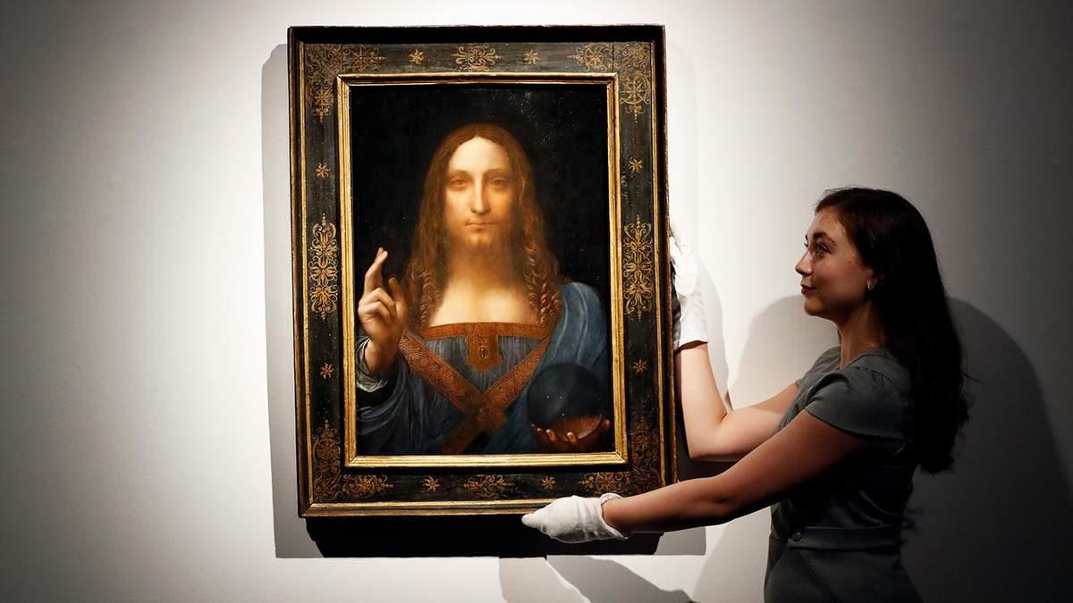 """В ОАЕ зникла картина Леонардо да Вінчі """"Спаситель світу"""", – ЗМІ"""