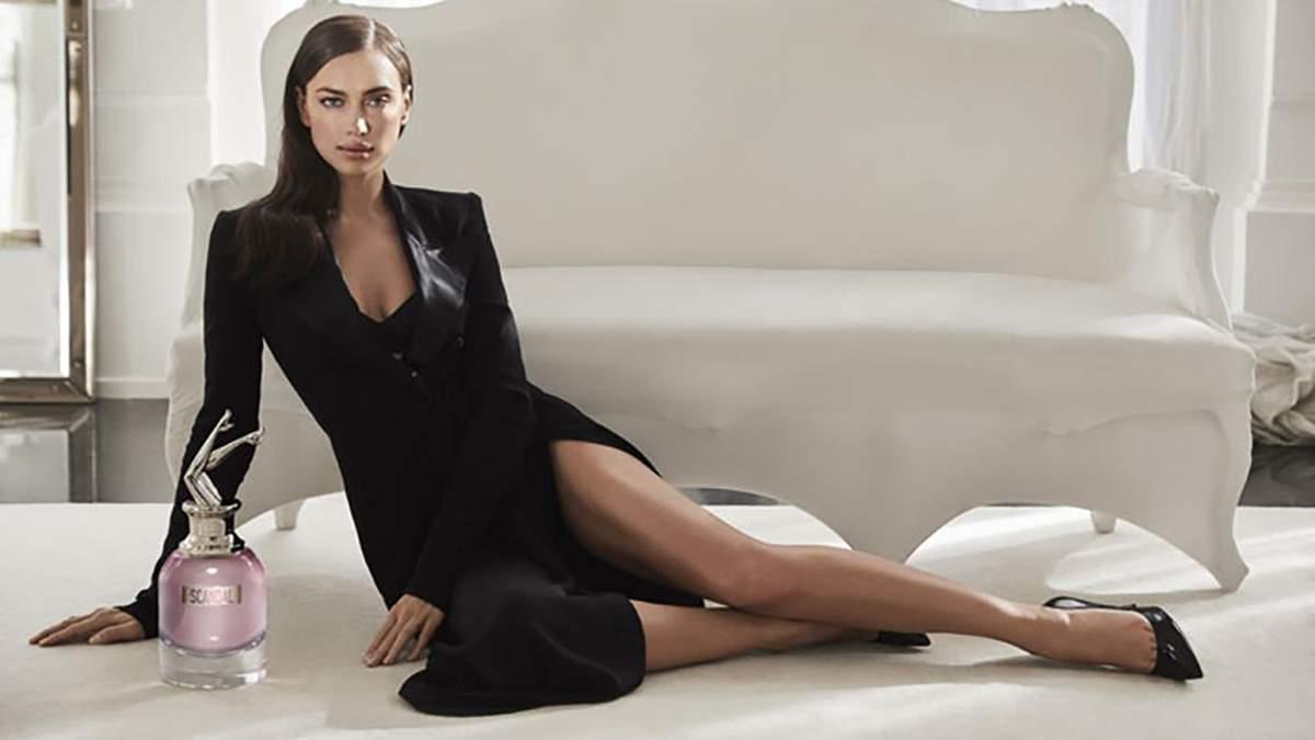 Гарячий дебют: Ірина Шейк похизувалася фігурою у зйомці для нового аромату Jean Paul Gaultieri