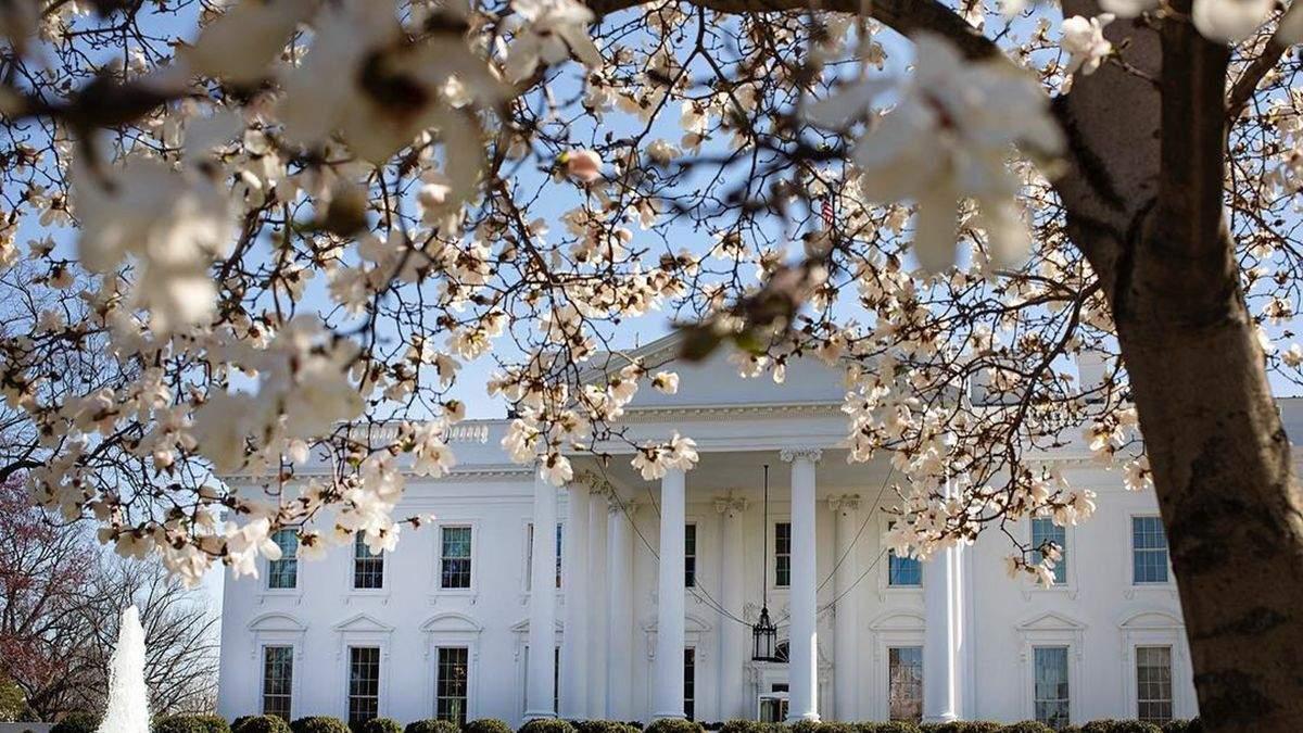 У квітах та із зеленим газоном: Іванка Трамп показала, як виглядає подвір'я Білого дому