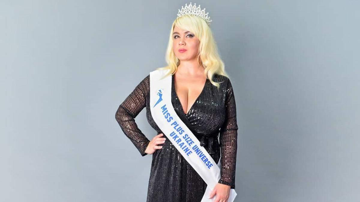 Участница Модель XL Мила Кузнецова примет участие в конкурсе Мисс Вселенная Plus Size