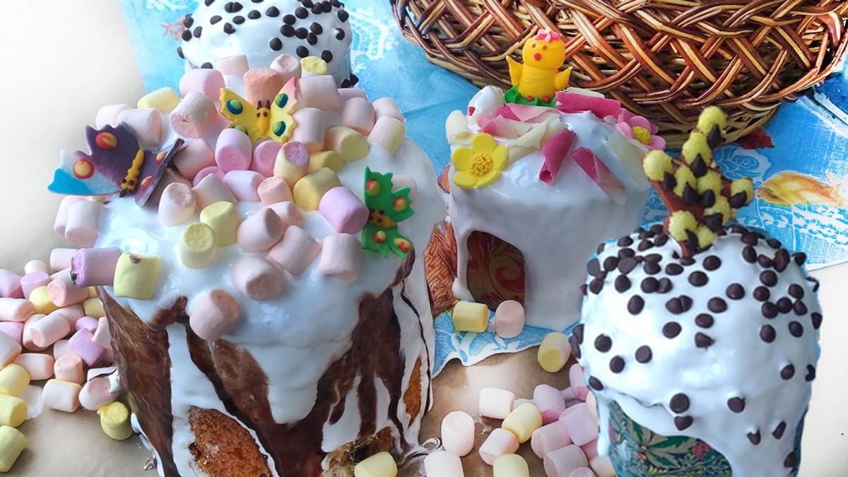 Рецепт пухкої паски на Великдень