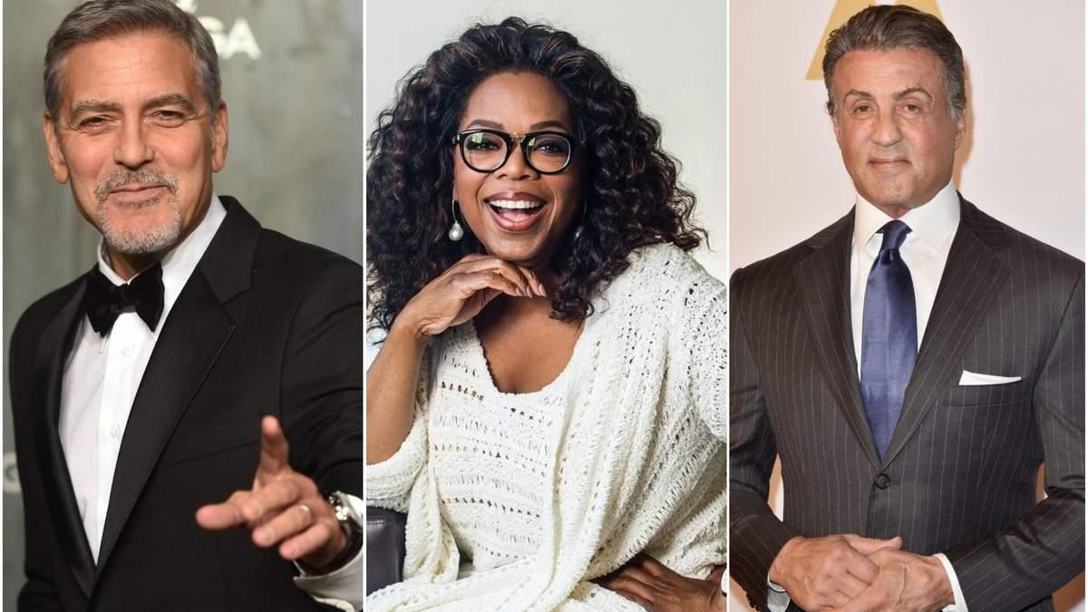 Скільки заробили топ-10 найбагатших акторів 2019 року