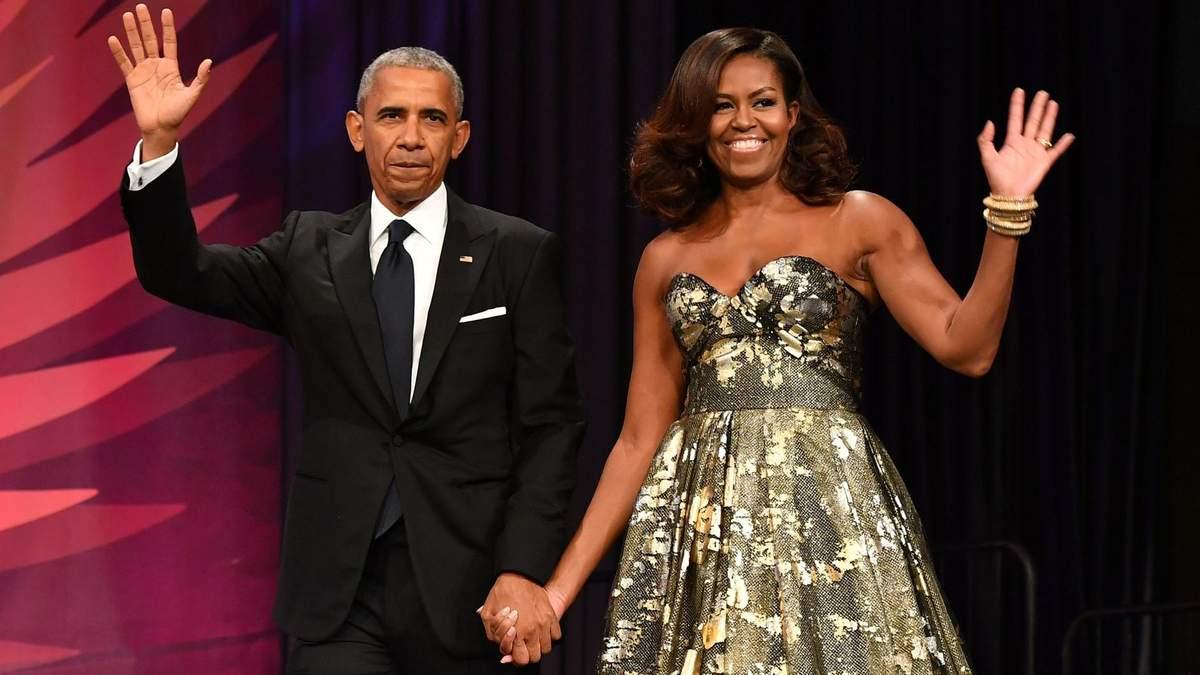 Мішель і Барак Обама випускатимуть власні фільми та серіали спільно з Netlfix: деталі