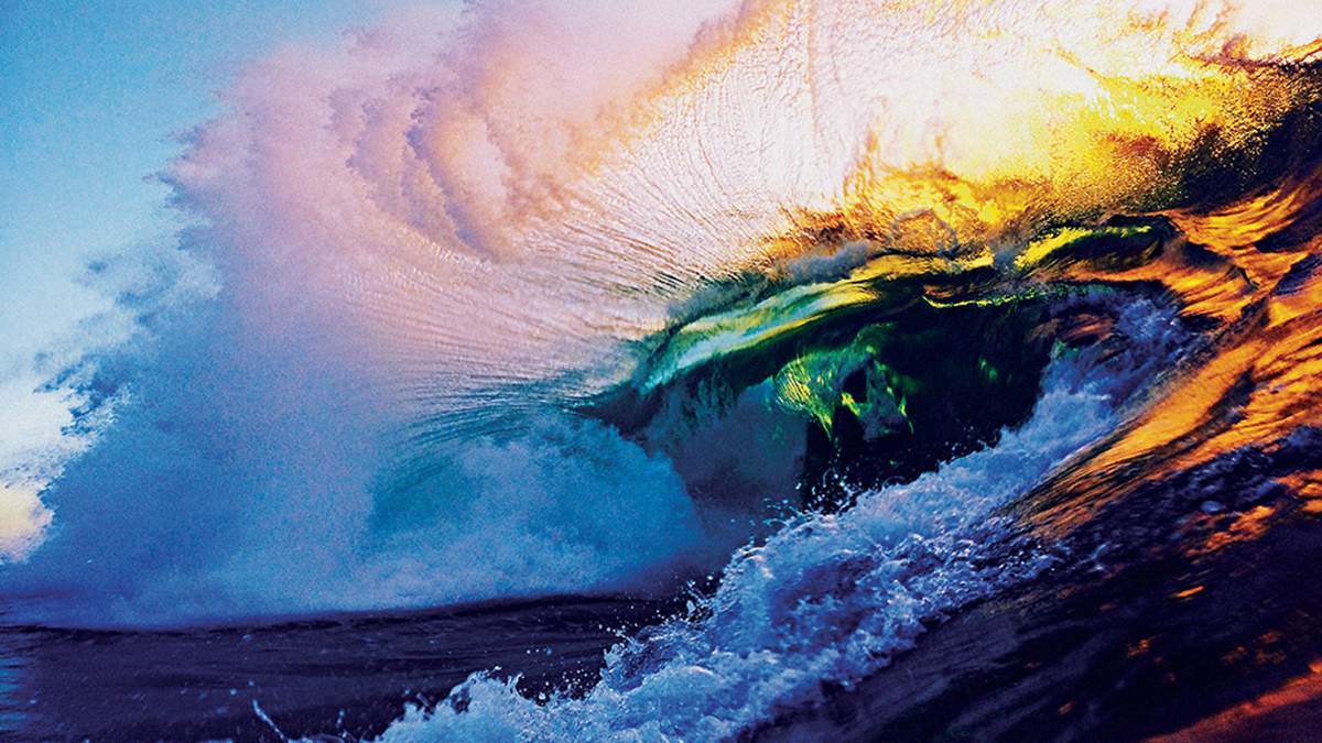 Океан як мистецтво: відео з хвилями, від яких перехоплює подих