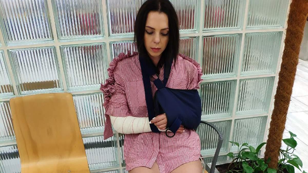 Племянница Софии Ротару сломала две руки