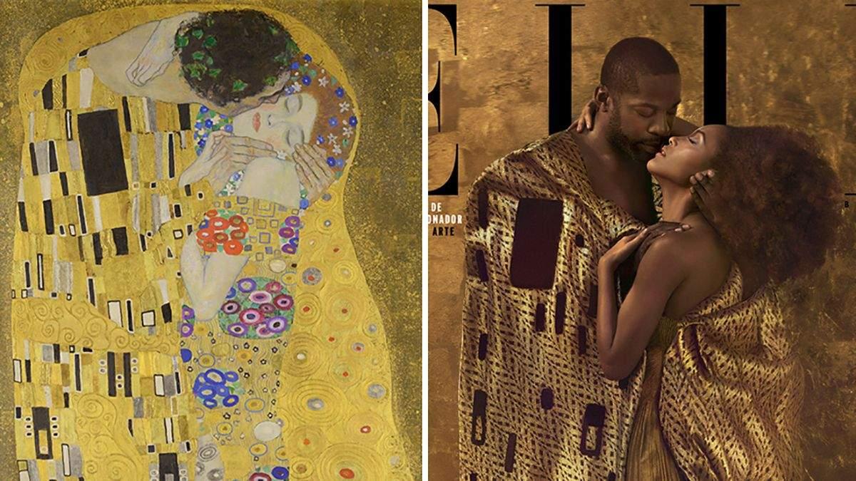 Обкладинки Elle за мотивами знаменитих картин: 4 яскравих фото