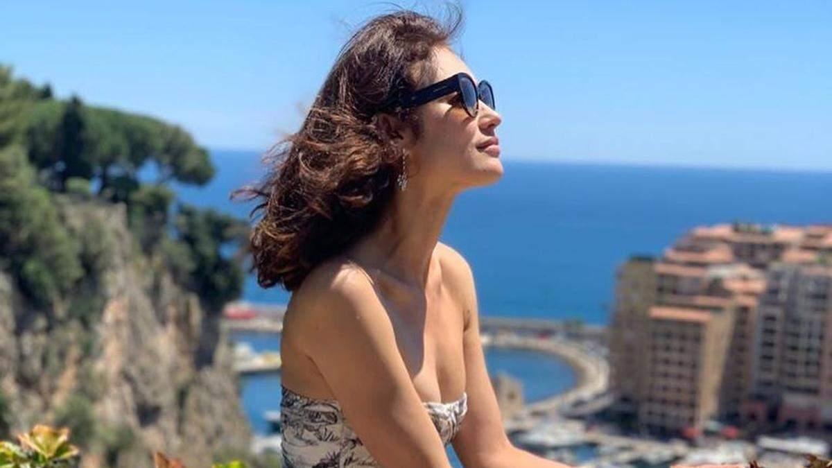 Голлівудська зірка Ольга Куриленко показала, як починала модельну кар'єру у 15 років