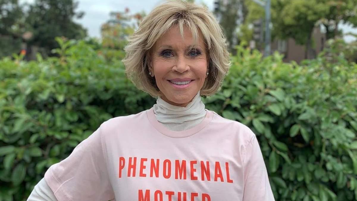 81-річна акторка Джейн Фонда стала представником спортивного бренду