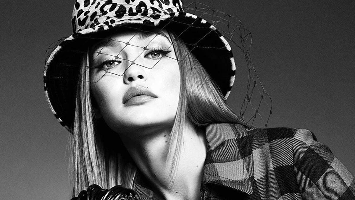 Джиджи Хадид в съемке для Vogue