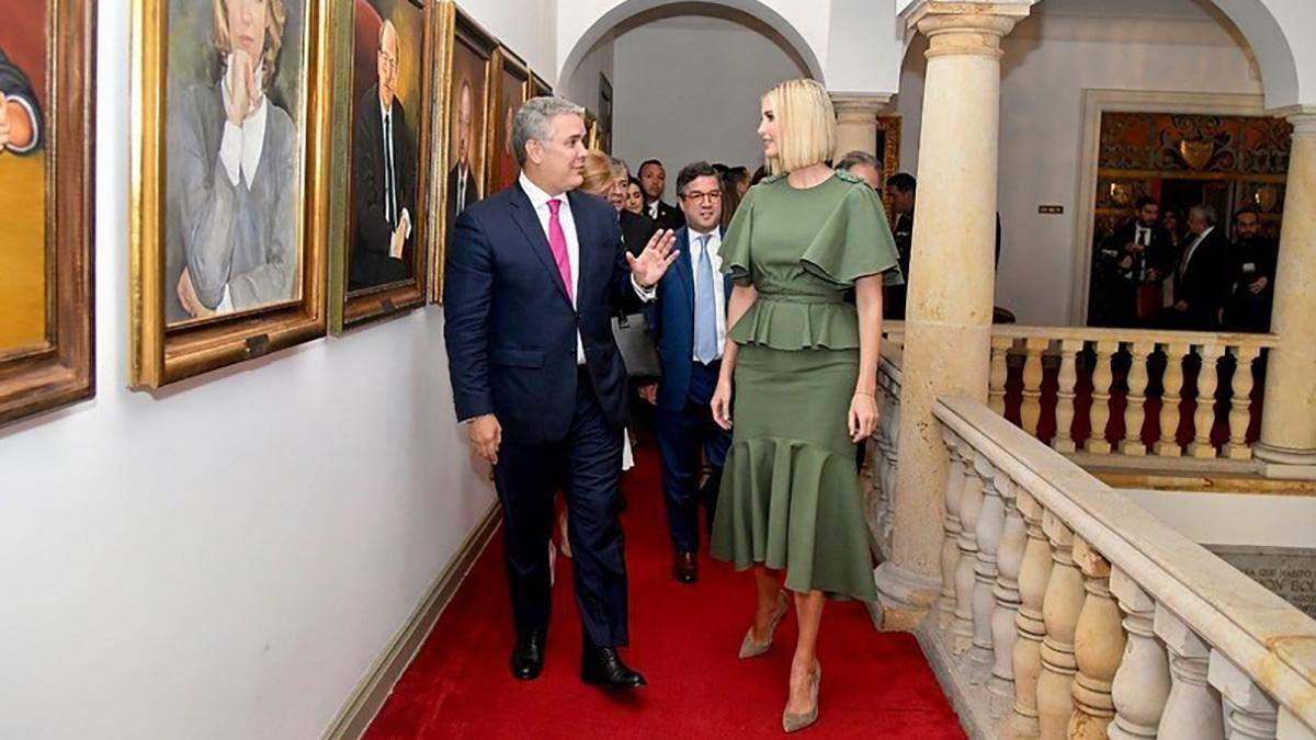 Иванка Трамп в Колумбии