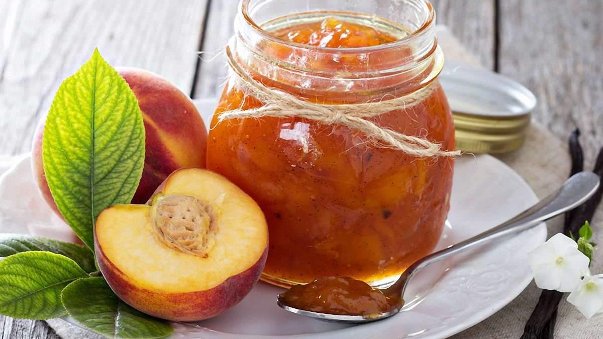 Варення з персиків: рецепти