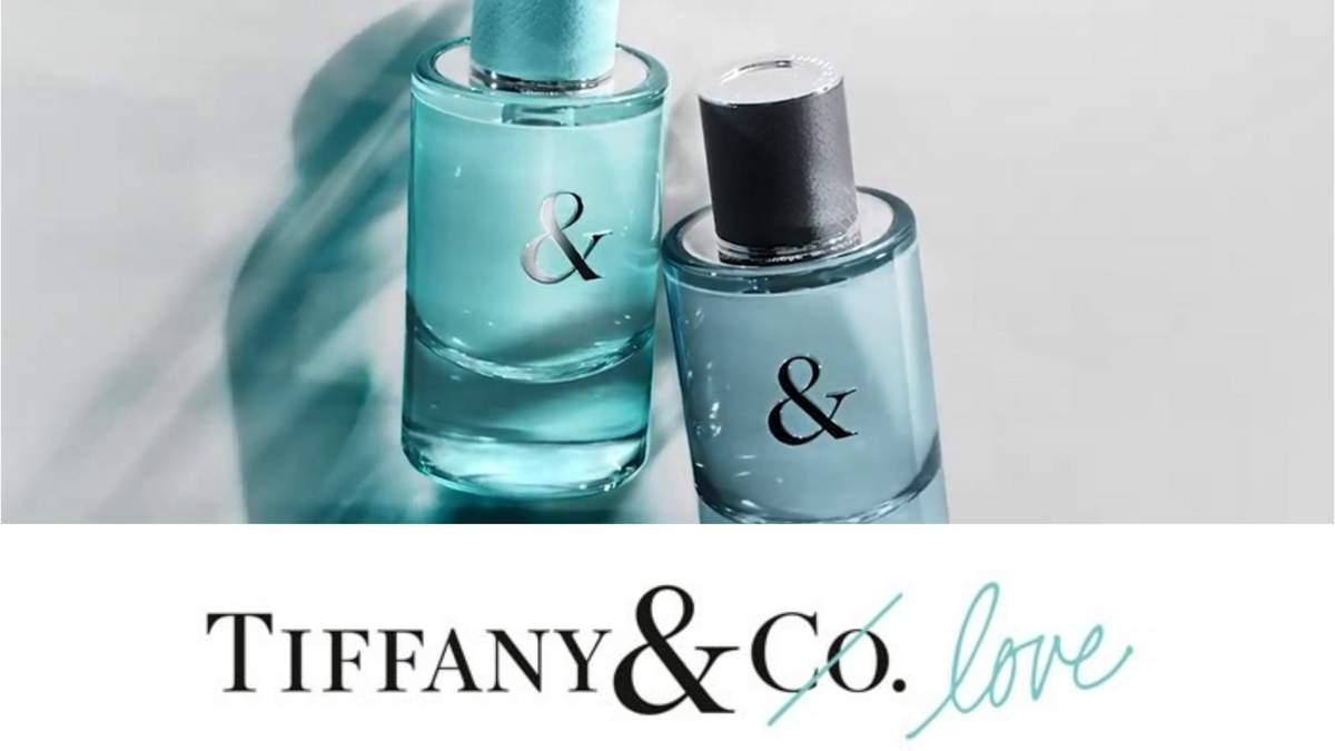 Нові аромати від Tiffany під назвою Tiffany & Love