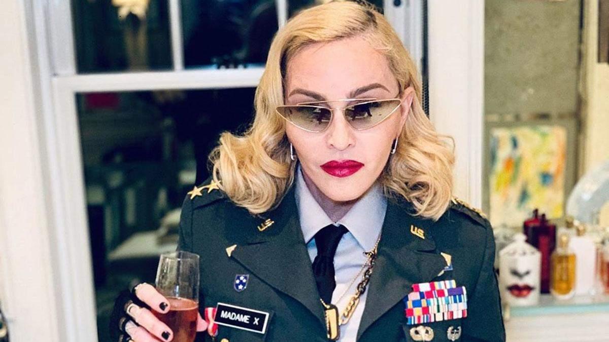 Мадонна епатувала на шоу в Нью-Йорку