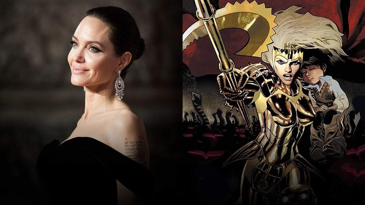 Анджелина Джоли снимается в фильме Marvel: как выглядит актриса