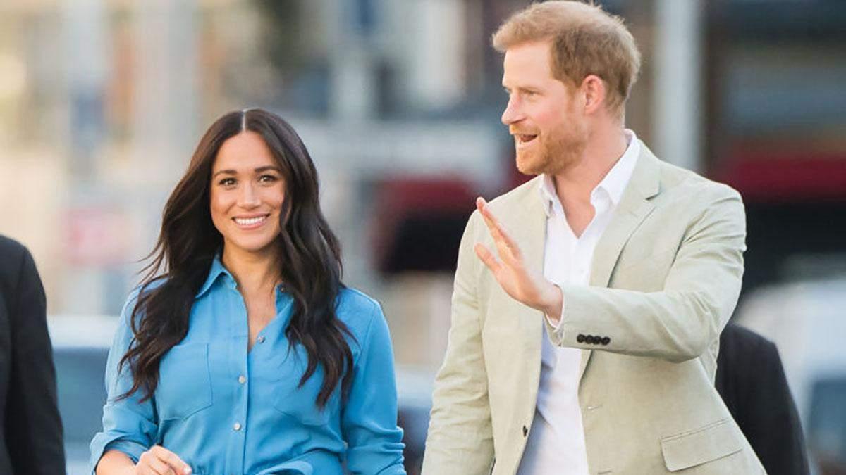 Принц Гарри и Меган Маркл в Африке