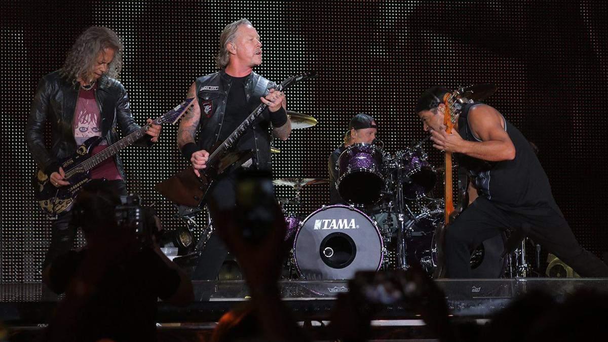 Гурт Metallica скасував концерти