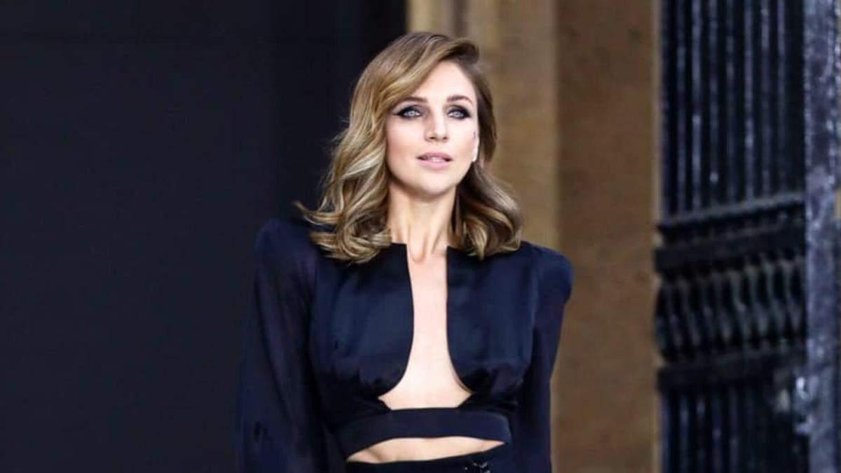 Катя Сільченко на Тижні моди в Парижі