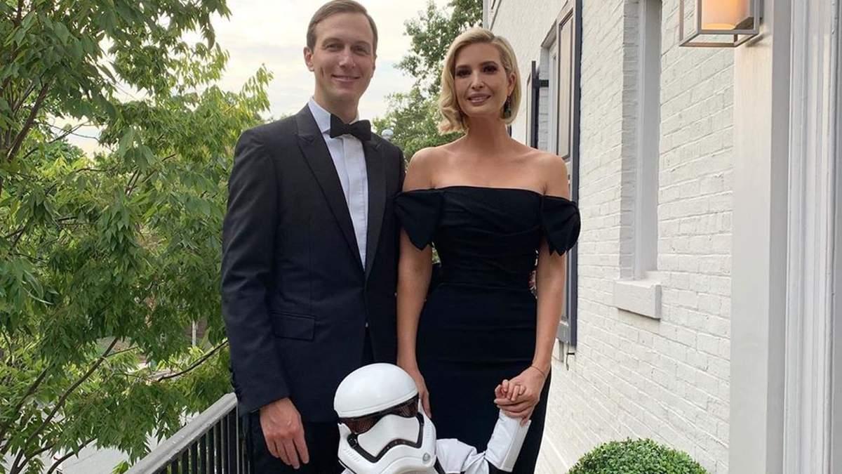 Іванка Трамп і Джаред Кушнер з сином