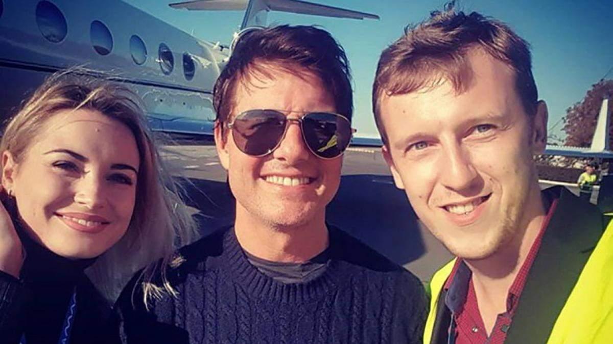 Том Круз прибув в Одесу