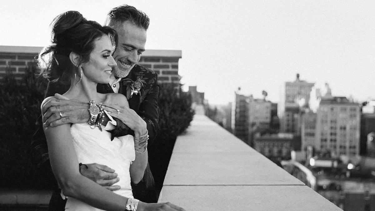Джеффри Дин Морган и Хилари Бертон поженились!