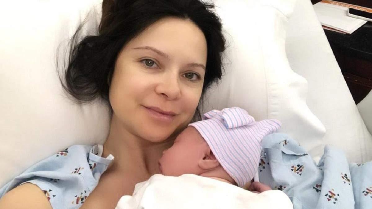 Лілія Подкопаєва з дитиною