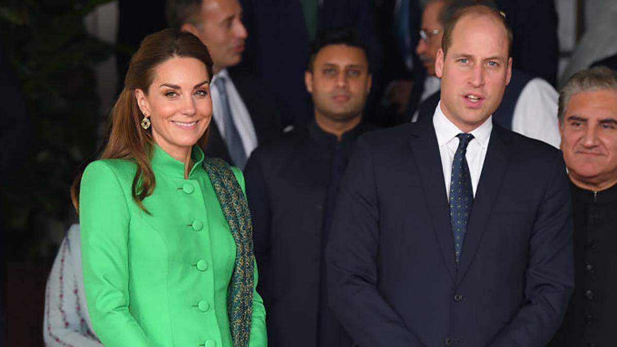 Принц Вільям і Кейт Міддлтон у Пакистані