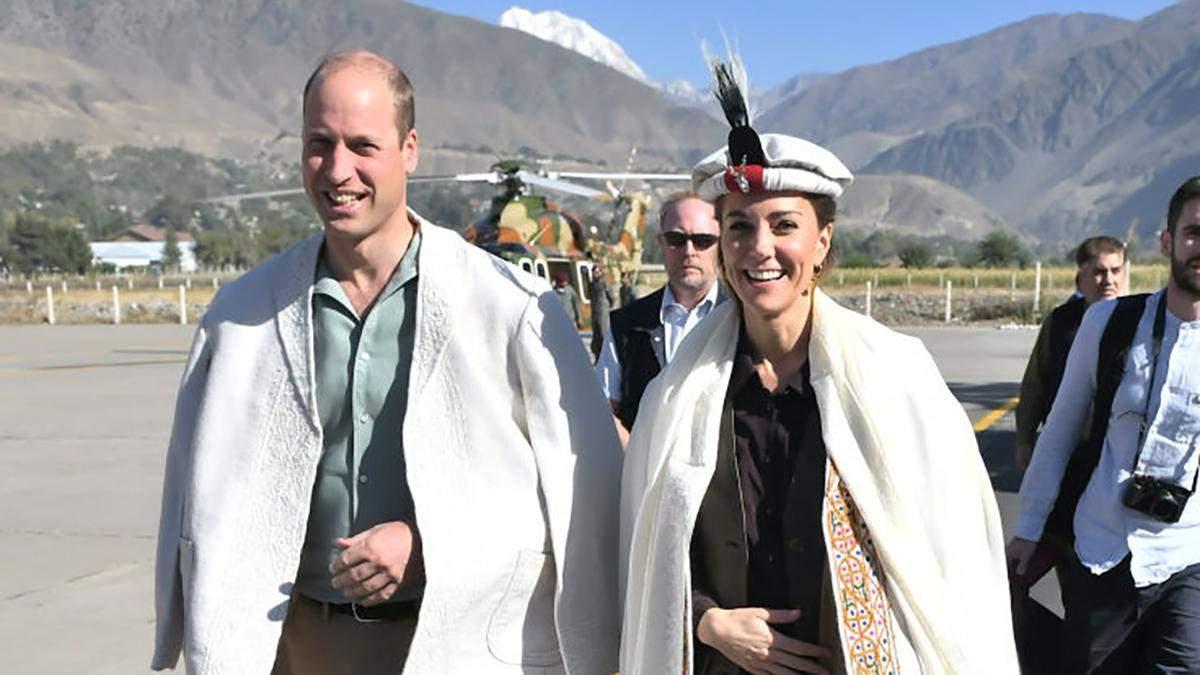 Принц Уильям и Кейт Миддлтон на границе с Афганистаном