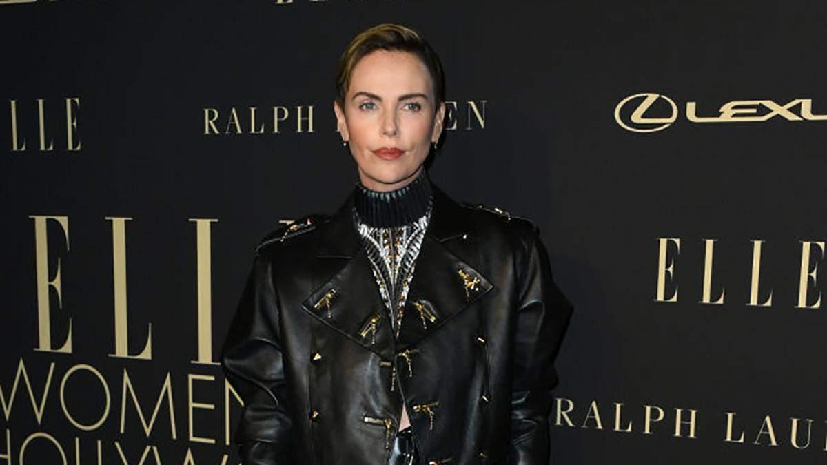 Шарлиз Терон на церемонии Elle Women in Hollywood