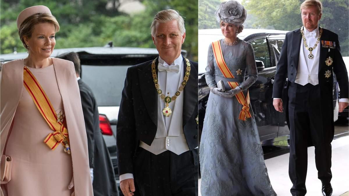 Хто з королівської родини відвідав інтронізацію імператора Японії