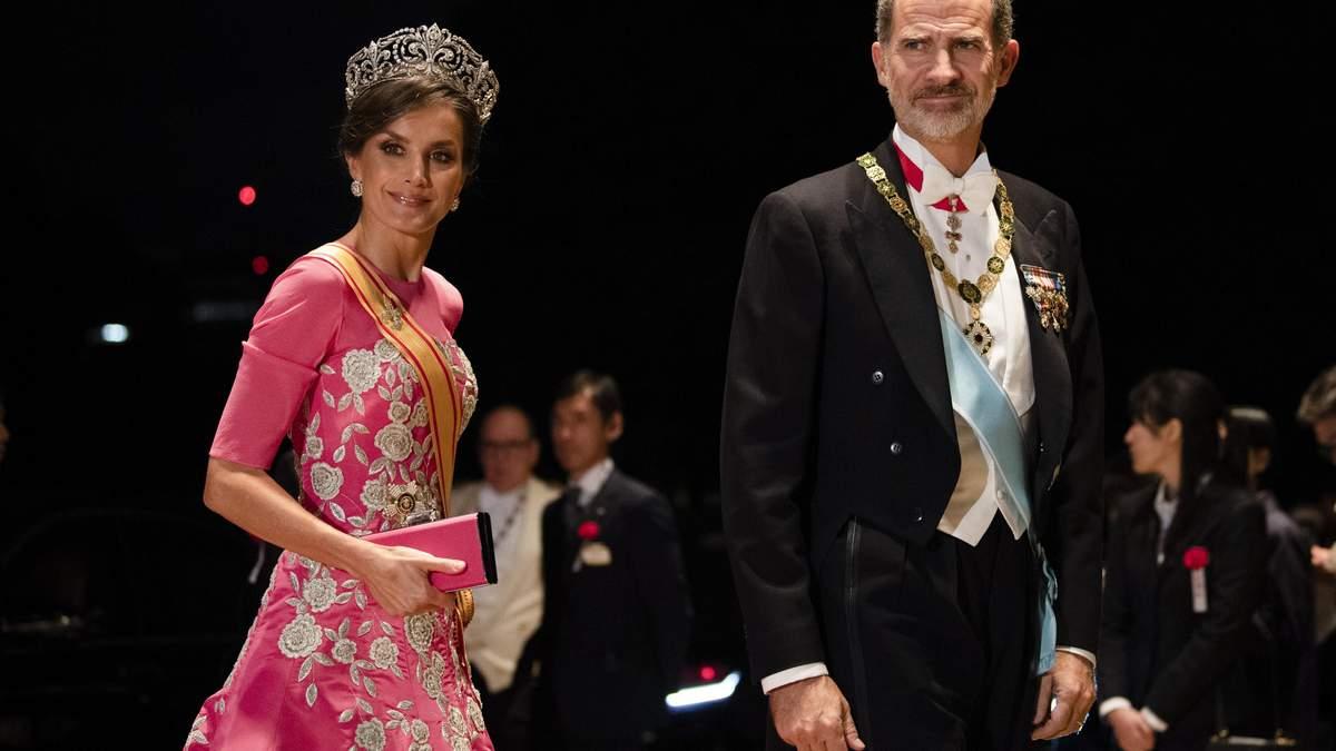 Королева Іспанії Летиція з королем Філліпом VI