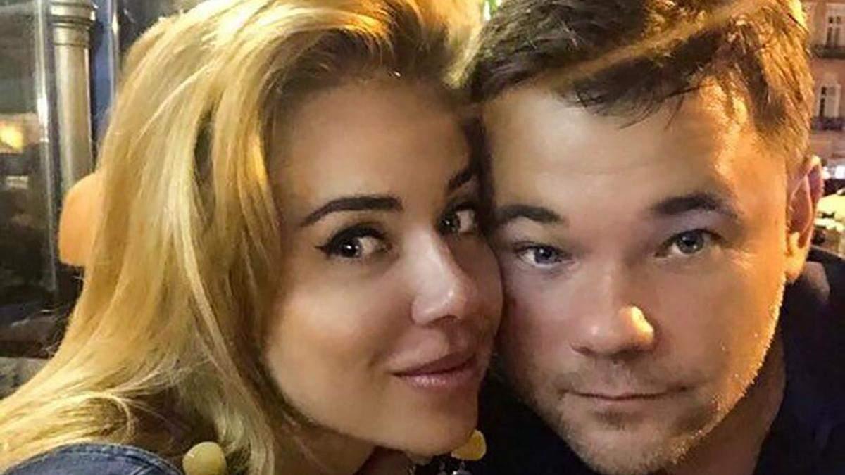 Анастасія Слічна і Андрій Богдан