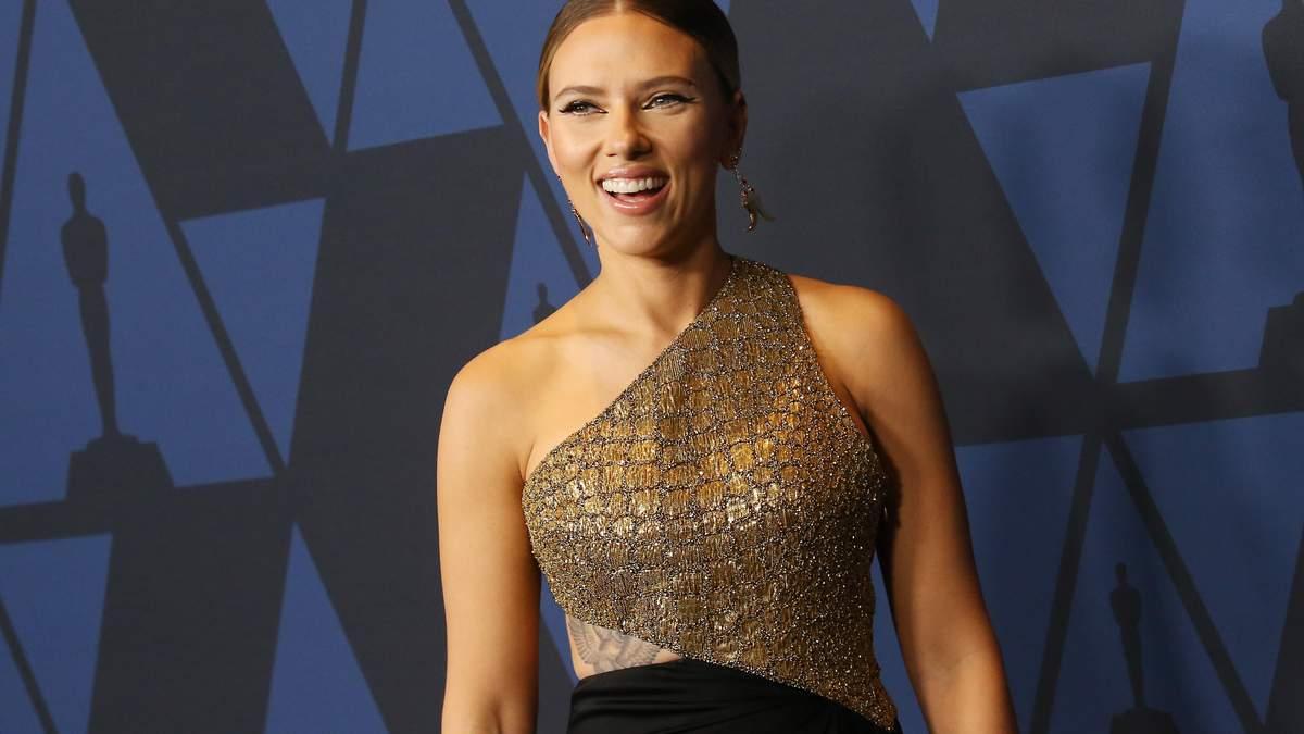 Скарлетт Йоханссон на Governors Awards 2019