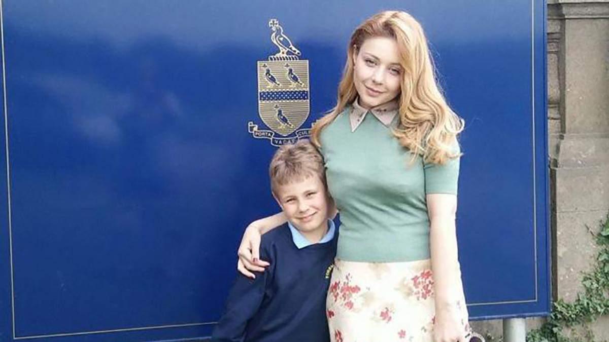 Тіна Кароль з сином Веніаміном