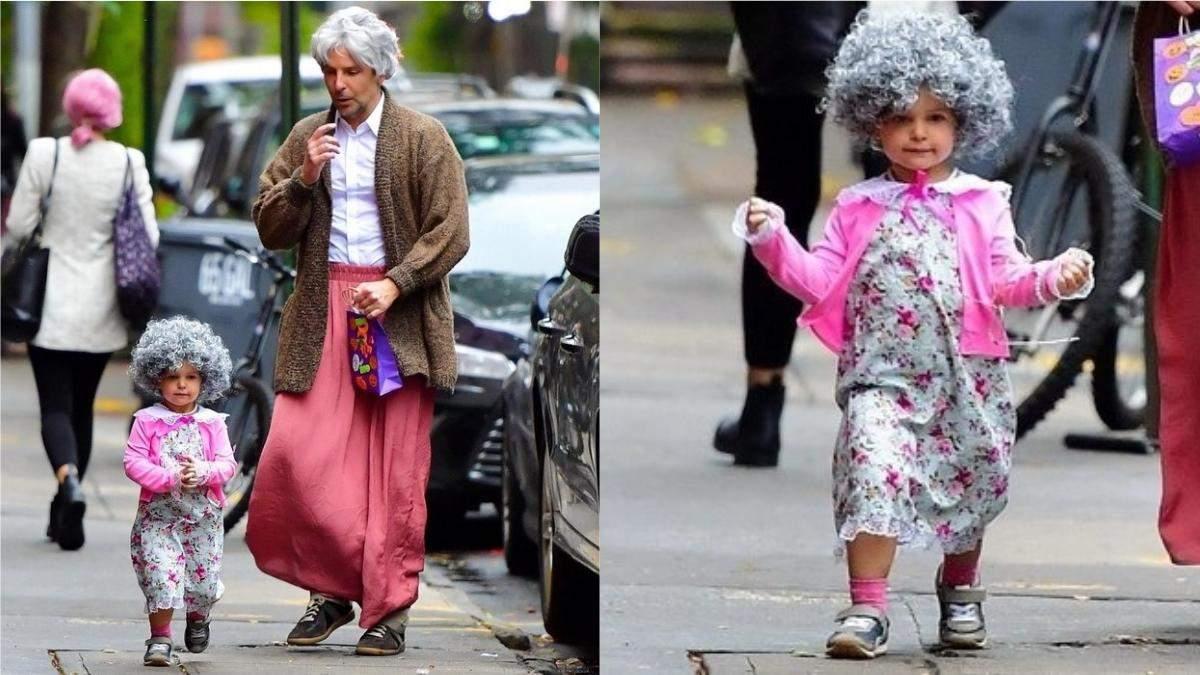 Бредлі Купер з дочкою Леєю