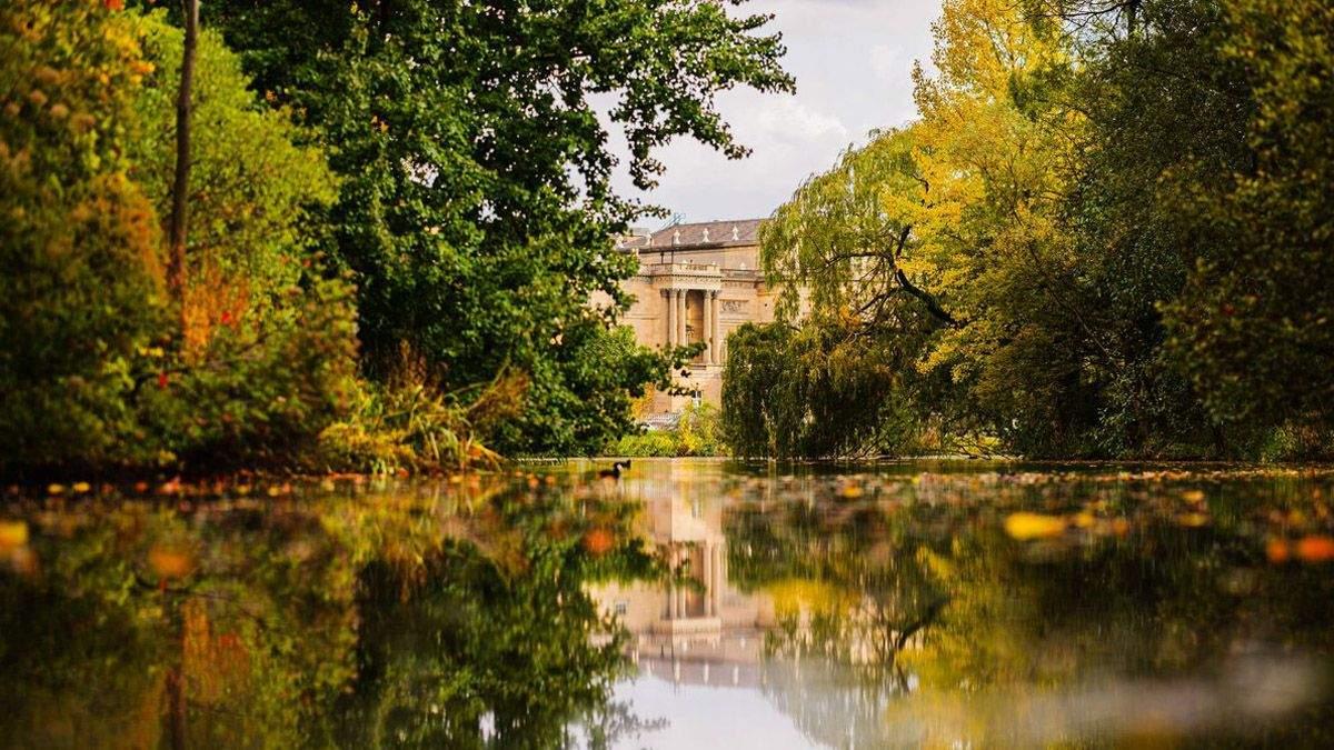 Сади Букінгемського палацу у фото