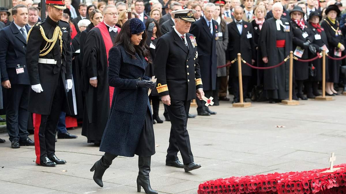 Принц Гарри и Меган Маркл на памятном мероприятии