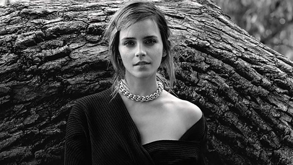 Емма Вотсон для грудневого Vogue