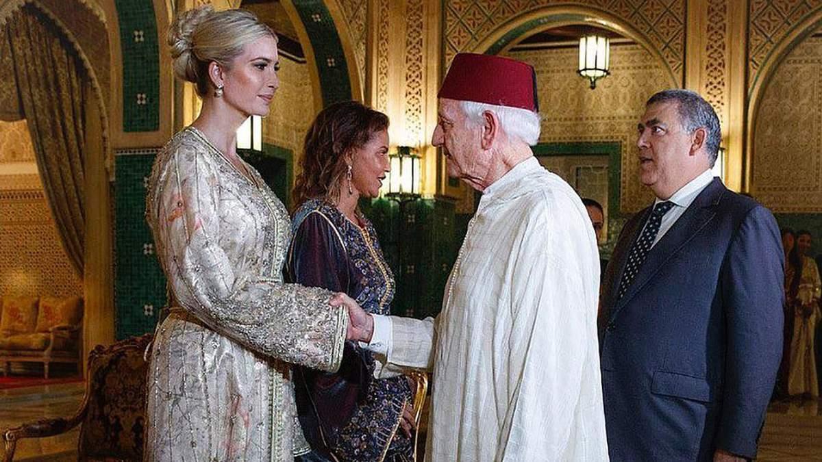 Іванка Трамп в Марокко