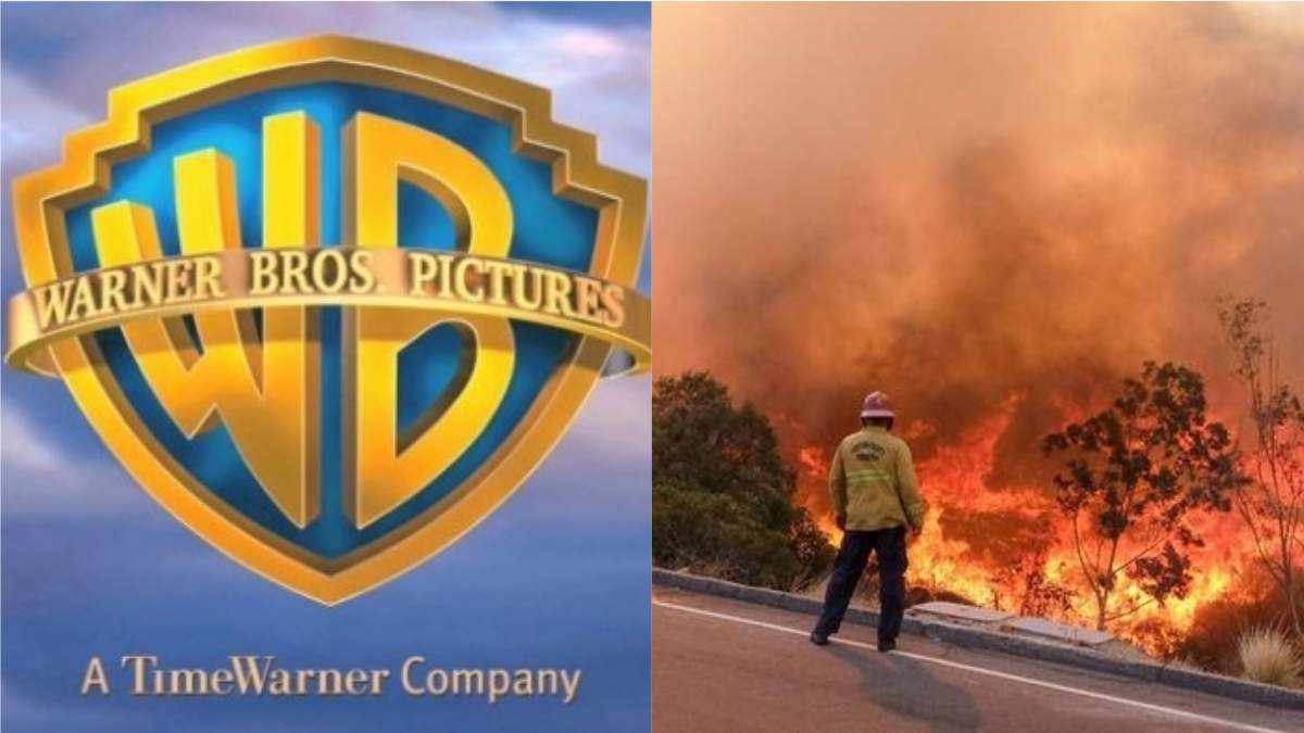 Киностудию Warner Bros эвакуировали из-за пожаров в Калифорнии