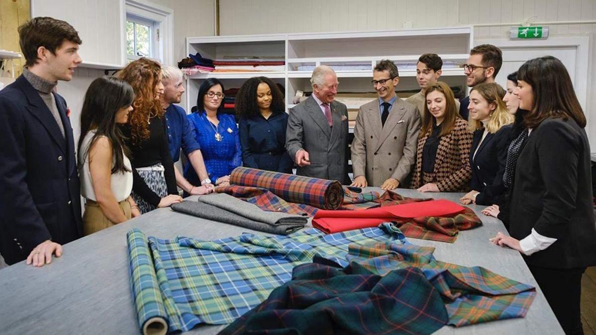 Принц Чарльз работает над коллекцией The Modern Artisan