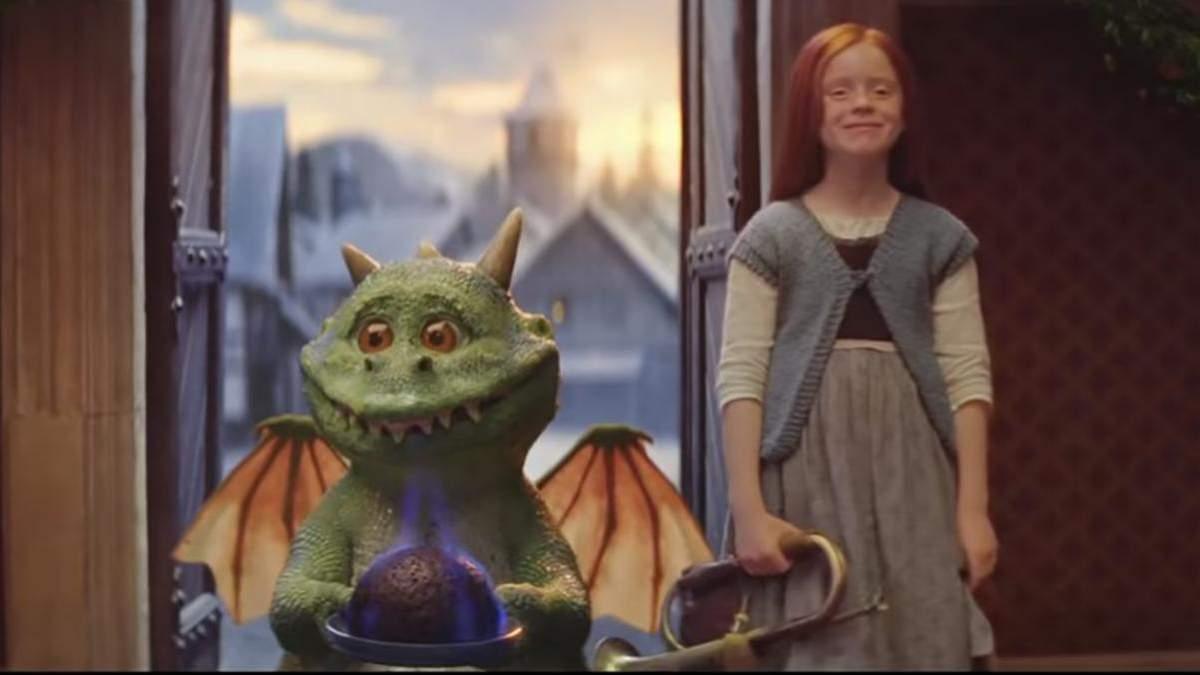 Різдвяна пригода дракончика Едгара і його подружки