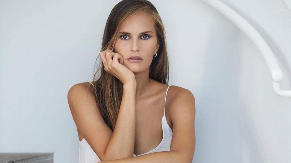 Украинская девушка модель алла костромичева обои девушек на работе