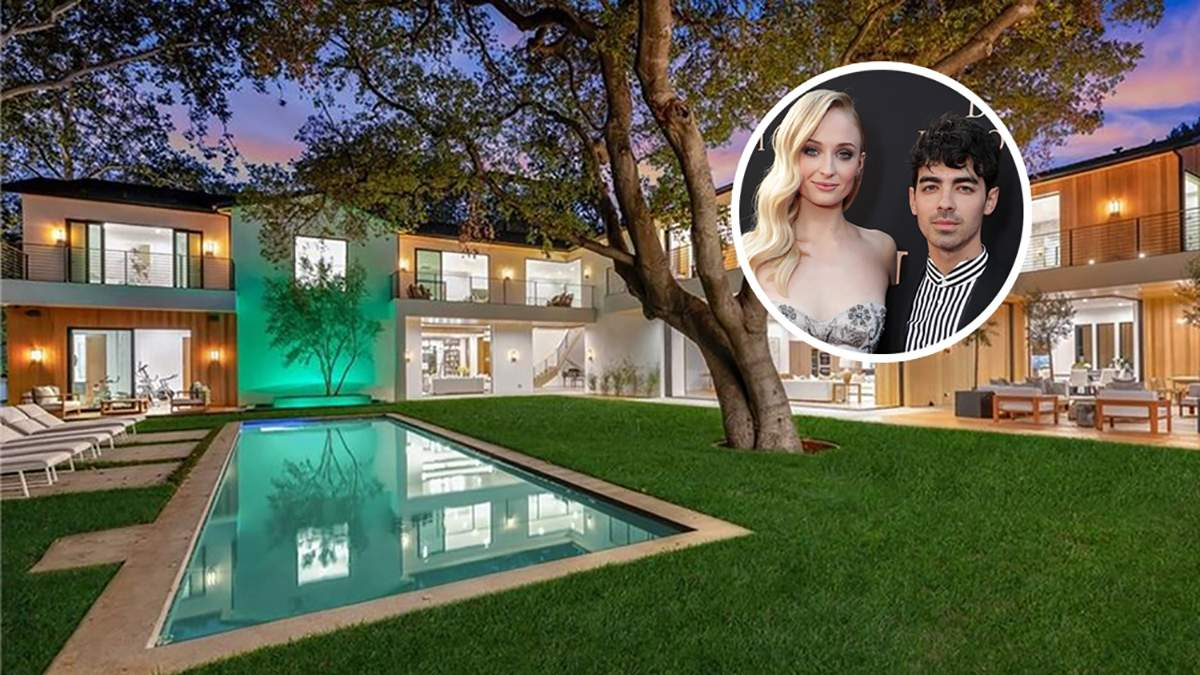 Софи Тернер и Джо Джонас приобрели дом в Калифорнии