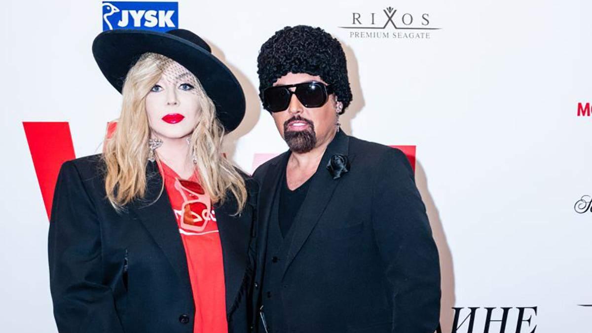 Ирина Билык с Дмитрием Коляденко