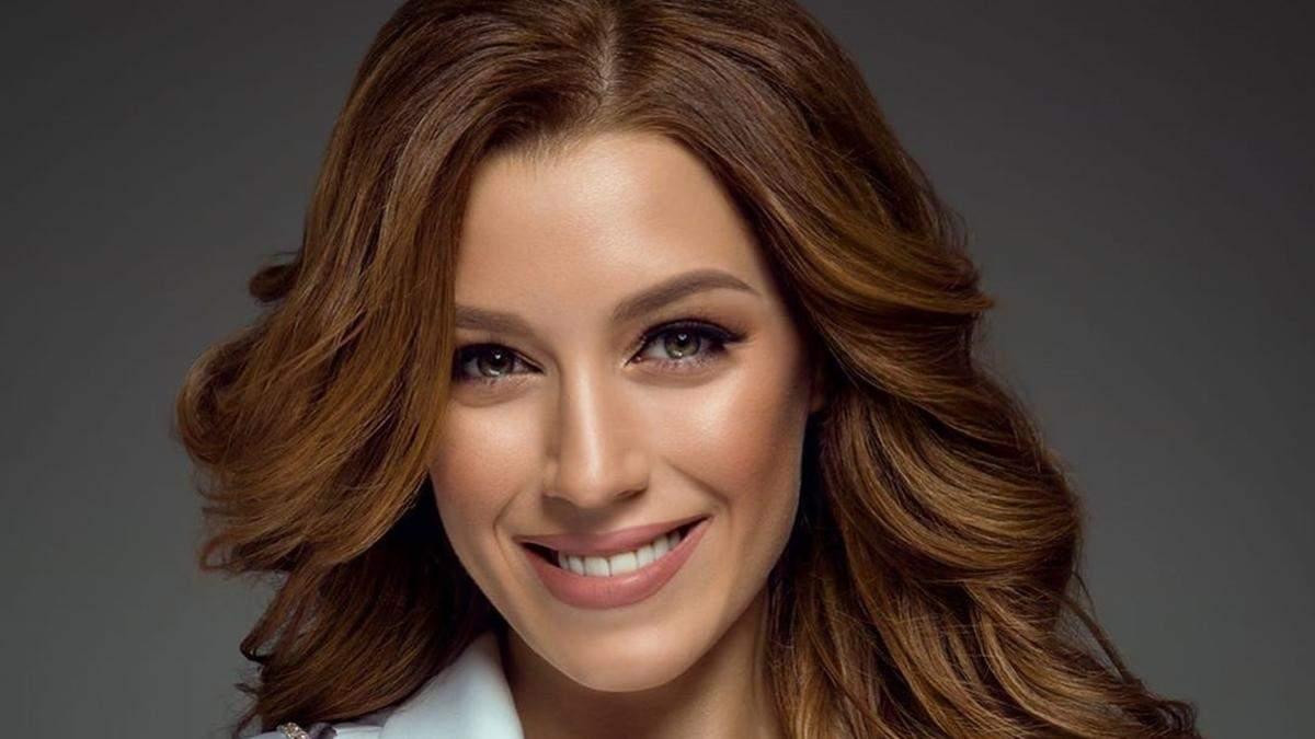Мисс Украина-Вселенная Анастасия Суббота: как выглядит главное платье для шоу